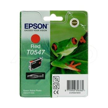 ГЛАВА ЗА EPSON STYLUS PHOTO R 800/R 1800 - Red - P№ C13T05474010 image