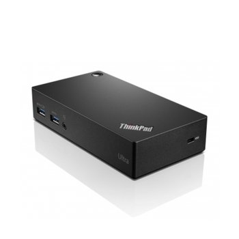 Докинг станция Lenovo ThinkPad USB-C Dock Gen2, 2x Display Port, 1x HDMI, 3x USB3.1, 2x USB 2.0, 1x Combo Audio Jack, 1x RJ-45, черна image