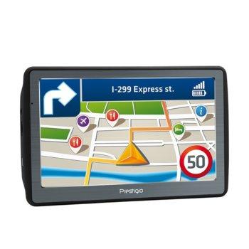 "Навигация за автомобил Prestigio GeoVision 7060, 7"" (17.78 cm) Multi-Touch TFT LCD дисплей, Micro SD, без карти image"