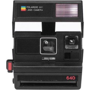 Фотоапарат Polaroid 600 Camera - Square 004708(черен), за моментни снимки, 4.0' / 1.2 m фокусно разстояние, 0,6 м леща image
