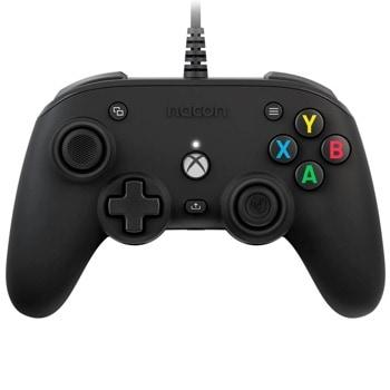 Геймпад Nacon Xbox Series Pro Compact, безжичен, bluetooth, Windows/Xbox, бутони за програмиране, черен image