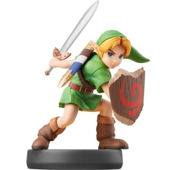 Фигура Nintendo Amiibo - Young Link No.70 [Super Smash], за Nintendo Switch image