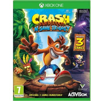 Игра за конзола Crash Bandicoot N. Sane Trilogy, за Xbox One image