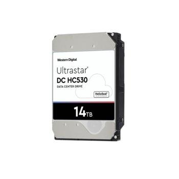 """Твърд диск Tвърд диск 14TB WD Ultrastar DC HC500 , SAS 12 Gb/s, 7200 rpm, 512MB кеш, 3.5"""" (6.35cm) image"""