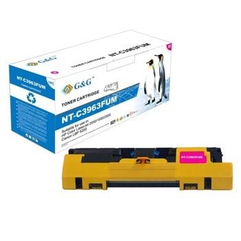 Тонер касета за HP COLOR LASER JET 2550 / 1500 / 2500 / CANON LBP5200, Magenta, - Q3963A/C9703A - G&G - неоригинален, Заб.: 4000 брой копия image