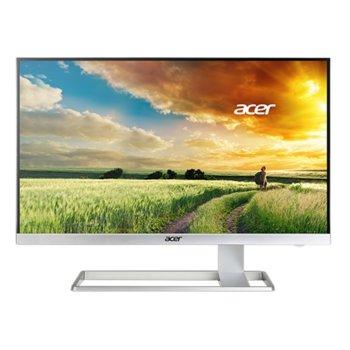 "Монитор 27"" (68.58 cm) Acer S277HKwmidpp, IPS панел, 4K UltraHD, 4ms, 300 cd/m2, 100 000 000:1, DisplayPort, HDMI, DVI image"