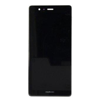 Дисплей за Huawei P9 Lite mini / Y6 PRO 2017, LCD, с тъч, черен image