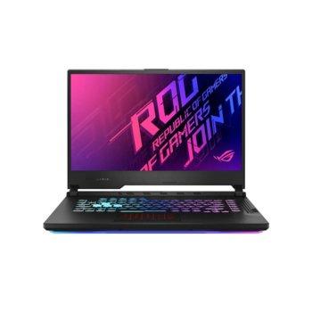 "Лаптоп Asus ROG STRIX G15 G512LU-HN080 (90NR0351-M03020-32GB_1TBSSDNVME), шестядрен Comet Lake Intel Core i7-10750H 2.6/5.0 GHz, 15.6"" (39.62 cm) Full HD IPS 144 Hz Anti-Glare Display & GF GTX 1660Ti 6GB, (HDMI), 16GB DDR4, 1TB SSD, 1x Type C, No OS image"