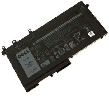 Батерия (оригинална) за DELL, съвместима с Latitude 5280/5288/5480/5488/5490/5491/5580/5590 / Precision 3520, 3-cell, 11.4V, 51Wh image