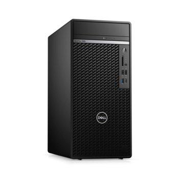 Настолен компютър Dell OptiPlex 7080 MT (N011O7080MT_UBU), осемядрен Comet Lake Intel Core i7-10700 2.9/4.8 GHz, 16GB DDR4, 512GB SSD, 1x USB 3.2 Gen 2 Type-C, клавиатура и мишка, Linux image