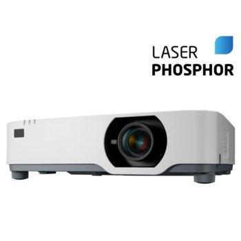 Преносим проектор NEC P525WL, 3LCD, WXGA (1280x800), 500000:1, 5000 lumens, HDMI, VGA, USB, RS232, RJ-45, HDBaseT image