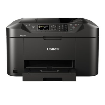 Мултифункционално мастиленоструйно устройство Canon MAXIFY MB2150, цветен, принтер/копир/скенер/факс, 600 x 1200 dpi, 19стр/мин, Wi-Fi, USB, A4 image