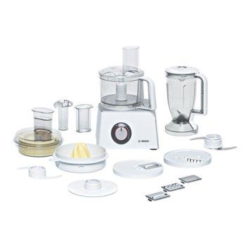 Кухненски робот Bosch MCM4200, 40 функции, LED дисплей, 800W, бял image