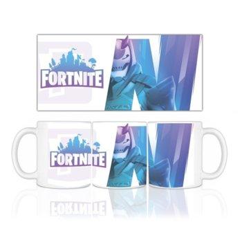 Fortnite чаша с лого, Синьо и Лилаво product