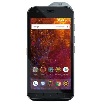"""Смартфон CAT S61 (черен), поддържа 2 sim карти, 5.2"""" (13.21 cm) IPS LCD display, осемядрен Snapdragon 630 2.2 GHz Cortex-A53, 4GB RAM, 64GB Flash памет (+microSD слот), 16.0 & 8.0 Mpix camera, Android, 250g image"""