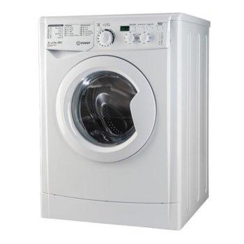 Перална машина Indesit EWD 7105 W EU, клас А+, 7 кг. капацитет, 1000 оборота в минута, свободностояща, 60 cm. ширина, бяла  image