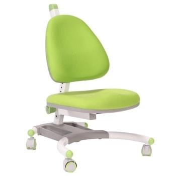 Детски стол RFG Ergo Tech, до 120кг, дамаска, регулиране на височината, ергономичен, база против обръщане, зелен image