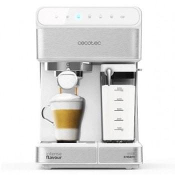 Кафемашина Cecotec Power Instant-ccino 20 serie Bianca, 1350W, 20 bar, капацитет на резервоара за вода 1.4л., контролен панел EasyTouch, сребриста image