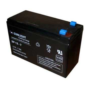 Акулуматорна батерия Sunlight, 12V, 7 Ah, VRLA image