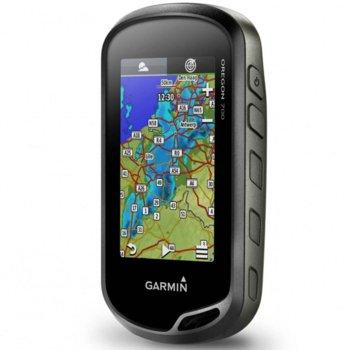 """Ръчна навигация Garmin Oregon 700, 3"""" (7.6 cm) TFT дисплей, 1.7GB + microSD Flash, Bluetooth, Wi-Fi, Световна базова карта image"""
