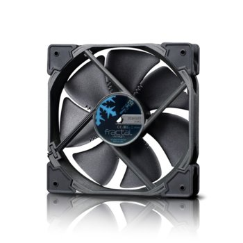 Вентилатор 120mm Fractal Venturi HP-12 PWM Black, 4-pin, 1800 rpm image