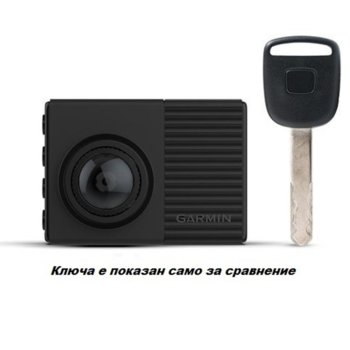 "Видеорегистратор Garmin Dash Cam 66W, камера за автомобил, WQHD, 2.0"" (5.1 cm) LCD дисплей, 60FPS, микрофон, акселерометър, Voice Control, microSD слот до 64GB, USB, Wi-Fi, Bluetooth, черна image"