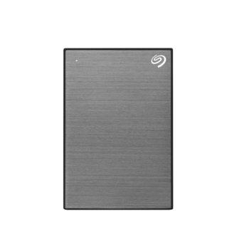 """Твърд диск 2TB, Seagate Backup Plus Slim STHN2000406, сив, външен, 2.5"""" (6.35 cm), USB 3.0 image"""