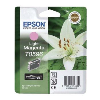 ГЛАВА ЗА EPSON Stylus Photo R2400/2400 - T0596 - Light Magenta - P№ C13T05964010 - 13ml image