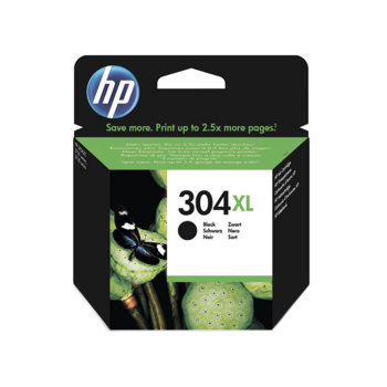 ГЛАВА ЗА HEWLETT PACKARD DeskJet 3720/2620/2630 All-in-One Printers - Black - P№ N9K08AE - /304XL/ - Заб.: 300p/7ml image