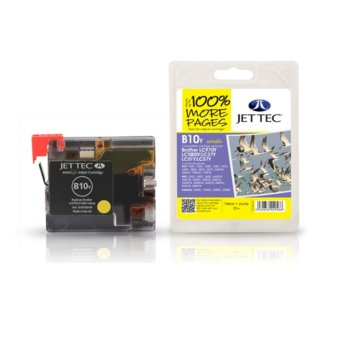 Глава за Brother MFC 240C/440CN - Yellow - LC1000Y - Неоригинална - Jet Tec - Заб.: 15 ml image