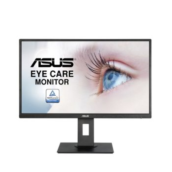 """Монитор Asus VA279HAL (90LM04J9-B01370), 27.0"""" (68.6cm) VA панел, Full HD, 6ms, 300 cd/m2, HDMI, VGA image"""