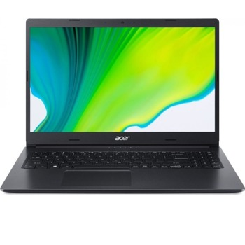 "Лаптоп Acer Aspire 3 A315-22-459X (NX.HE8EX.012), двуядрен AMD A4-9120e 1.5/2.20 GHz, 15.6"" (39.62 cm) HD Anti-Glare Display, (HDMI), 4GB DDR4, 1TB HDD, 1x USB 3.1, Linux image"