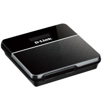 Рутер D-Link DWR-932, 4G, мобилен, 150Mbps, 2.4GHz(150 Mbps), Wireless N, 1x SIM card, 1x microUSB, 1x вътрешна антена, 2020mAh батерия image