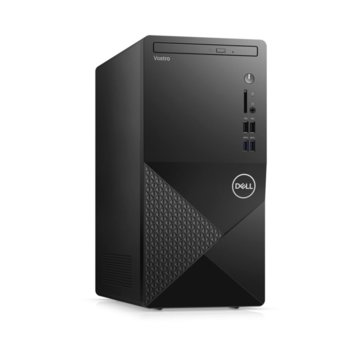 Настолен компютър Dell Vostro 3888 MT (N601VD3888EMEA01_2101_UBU), четириядрен Comet Lake Intel Core i3-10100 3.6/4.3 GHz, 8GB DDR4, 1TB HDD, 4x USB 3.1, клавиатура и мишка, Linux image