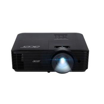 """Проектор Acer H5385BDi с подарък екран Acer T82-W01MW (82.5""""), DLP, HD (1280 x 720), 10 000:1, 4000 lm, HDMI, VGA, USB, AUX image"""