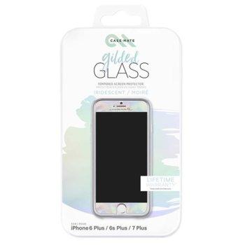Протектор от закалено стъкло /Tempered Glass/, CaseMate CM034972X, за iPhone 6/6s/7/8 CM034972X, цвят хамелеон image