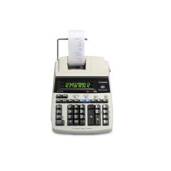 Калкулатор Canon MP120-MG ES II, мастиленоструйно печатане, двуцветен печат, бизнес функции, преобразуване на валута, бял image