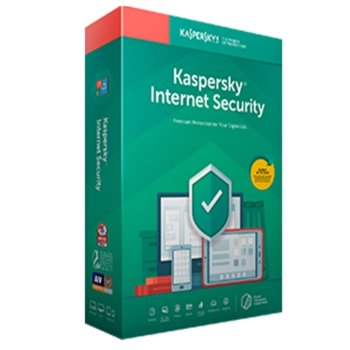 Софтуер Kaspersky Internet Security Eastern Europe Edition Base License Pack, лиценз за 1 година, 3 потребителя, Windows/macOS/Android/iOS image
