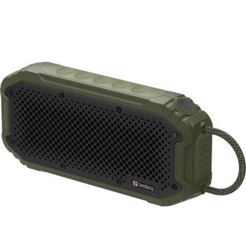 Тонколона Sandberg, 2.0, 20W, Bluetooth, зелена, 5200mAh батерия image