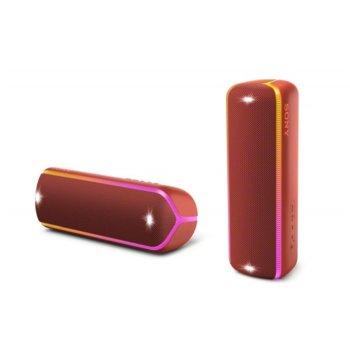 Тонколона Sony XB32, 2.0, Bluetooth, NFC, 3.5mm жак, червена, IP67 image
