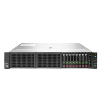 Сървър HPE DL180 G10 (879512-B21), осемядрен Skylake Intel Xeon Silver 4110 2.1/3.0 GHz, 16GB RDIMM, без HDD, 2x 1GbE, 4x USB 3.0, без ОС, 1x 500W image