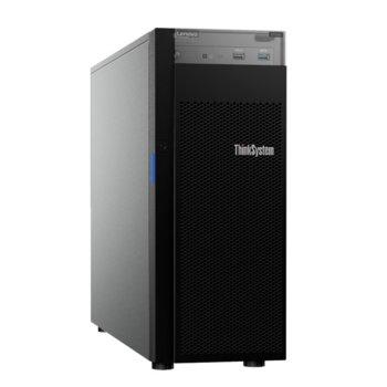 Сървър Lenovo ThinkSystem ST250 (7Y46A04JEA_5WS7A26456), четириядрен Coffee Lake Intel Xeon E-2224 3.4/4.6 GHz, 16GB DDR4, без твърд диск, 2x 1GbE, без ОС, 550W OSU  image