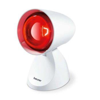 Инфрачервена лампа Beurer IL 11, настройка на наклон, 100 W, бяла image