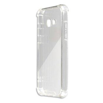 Калъф Samsung Galaxy A5 (2017), страничен протектор с гръб, термополиуретан, 4smarts Hard Cover Ibiza, прозрачен image