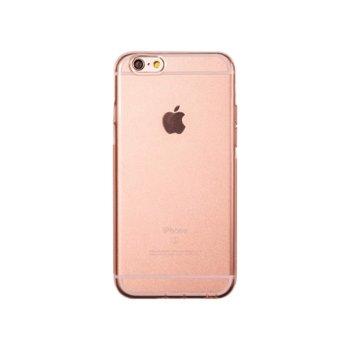 Калъф за iPhone 7 Plus, протектор, термополиуретанов, Remax Crystal, Розов image