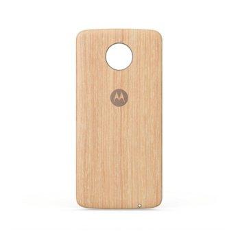 Заден капак за Motorola Moto Z, дъбов image