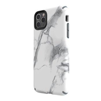 Калъф за iPhone 11 Pro Max, Speck Presidio Inked, поликарбонат, бял image