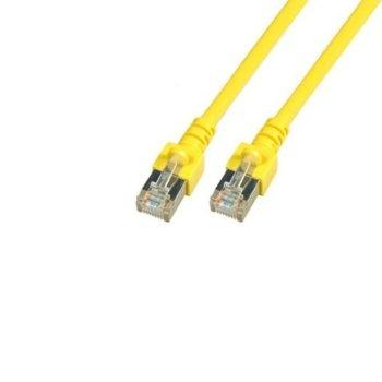 Пач кабел EFB Elektronik, SFTP, Cat.5e, 2m, жълт image