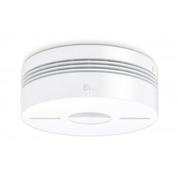 Безжичен детектор за дим Apple Elgato Eve Smoke, Bluetooth, бял image
