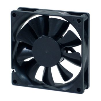 Вентилатор 80мм, EverCool EC8025M12BA, 2Ball, 3 Pin Molex, 2500rpm image